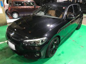 BMW 1シリーズにクリスタルキーパーを施工させて頂きました。